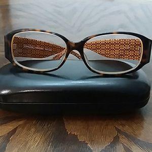 Coach women's eyeglass frame